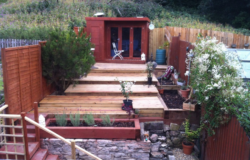Decking and Garden Renovation