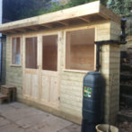 Garden Room, Workshop and Stable area