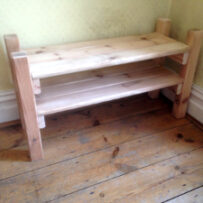 Up-cycled bed